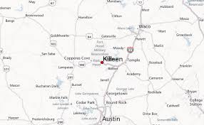 killeen map killeen location guide
