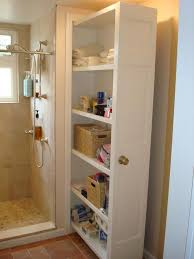 bathroom storage ideas pull out bathroom storage the shower plumbing wall home
