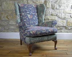 Reupholstering Armchair Reupholstered Chair Etsy