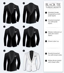 black tie attire men s black tie dress code bows n ties