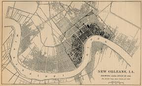 Louisiana Parishes Map Orleans Parish Louisiana Maps And Gazetteers