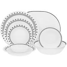 corelle livingware 76 dinnerware set walmart