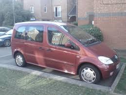 mercedes vaneo 7 seater petrol 1 9 manual long mot 74k miles not