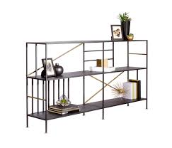 new prairie horizontal bookcase shelving from sauder boutique