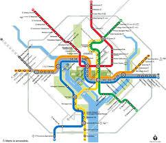 washington dc region map navigating washington dc s metro system metro map more