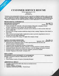 Customer Service Example Resume by Customer Service Cover Letter Sample Resume Companion