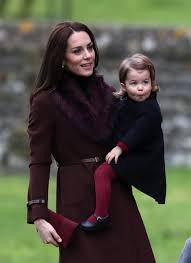 Englefield Berkshire Prince George And Princess Charlotte Go To Church In Kate U0027s Home