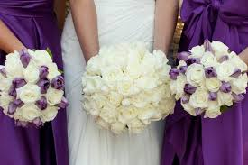 wedding flowers newcastle purple wedding flowers tesselaar flowers