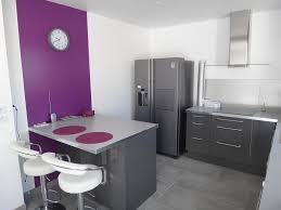 cuisine gris et vert anis meuble cuisine gris laqué cuisine henrodacar youtube