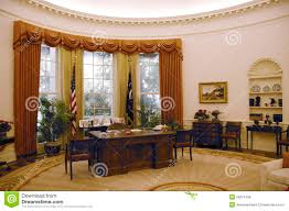 The White House Interior Replica Of The White House Oval Office Editorial Stock Photo