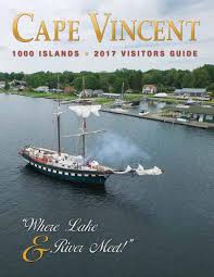 tv guide watertown ny thousand islands cape vincent ny 2017 visitor guide by cape