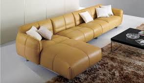 canapé cuir confortable 20 design de canapé modulaire en cuir confortable designdemaison