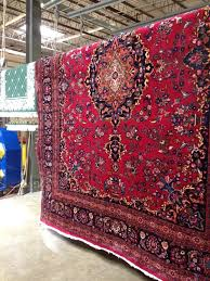 hanging rug roselawnlutheran