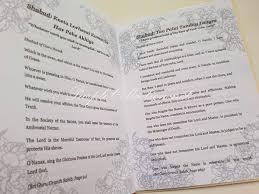 Wedding Program Printing Booklet Printing Sikh Wedding Ceremony Booklet With Ribbon