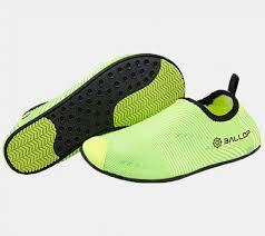 ballop skin shoes light series line wave green aqua skin shoes