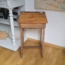 bureau ecolier bois bureau d écolier haut en bois pupitre écritoire incliné sur