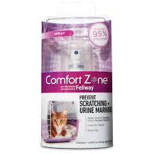 comfort zone spray with feliway for cats petco