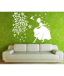 hoopoe decor girl with bird and flower wall stickers and wall hoopoe decor girl with bird and flower wall stickers and wall decals