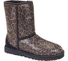 ugg boots sale uk amazon amazon com ugg s glitter black us 5 m shoes