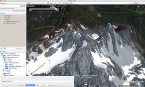 Map A Route Google by How To Make A Route Plan With Google Earth Mountain Addicts
