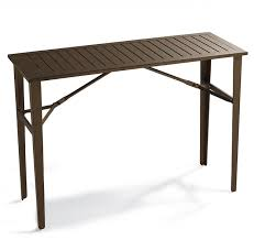 standing height folding table elegant bar height folding table bar height outdoor table bar
