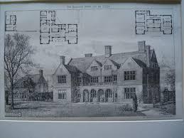 House Plans Architect 144 Best Beautiful Historic House Plans Images On Pinterest