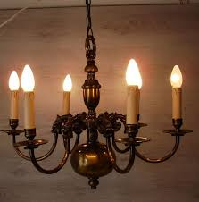 Flemish Chandelier Flemish Chandelier Ceiling L With Six Candle Shaped Lights