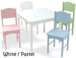 kidkraft nantucket table and chairs children s table chair sets baby earth