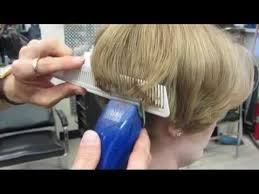 short haircuts for women with clipper casandra s short clipper haircut buzz video youtube