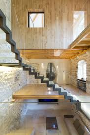 Inside Home Stairs Design Floating Stairs In A Renovated Villa Stairs Designs Of Stairs