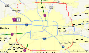 harris county toll road map state highway beltway 8
