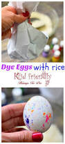 how to use rice to dye easter eggs super fun and easy