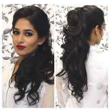hairstyle for parties long hair tutorial indian party hairstyle