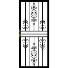 Front Door Security Gate by Door Hinges Front Door Security How Secure Is Your Youtube