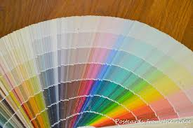 paint color advice how to choose a paint color postcards from