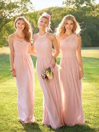 blush pink bridesmaid dresses 2017 blush pink country stylem bridesmaid dresses