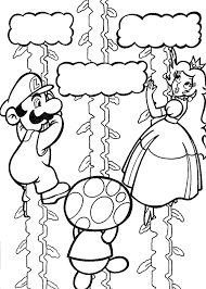 mario coloring pages print coloring pages print