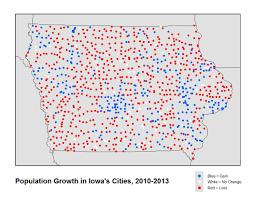 Isu Map Isu Analysis Of Census Data Shows Majority Of Iowa Communities Are