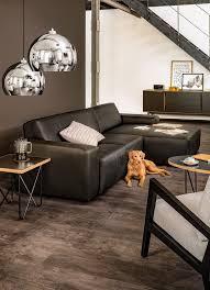 Wohnzimmer Einrichten Mit Schwarzer Couch Ecksofa Keel Leder Schwarz Individuell Zusammenstellbar Welt