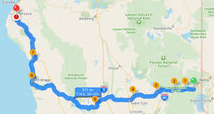 Fort Bragg Map 2017 Tour Day 4 From The Prairie To The Mountains To The Ocean