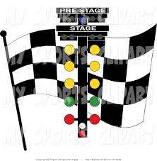 Flag Lights Sports Clip Art Of A Checkered Flag And Racing Lights By Pams