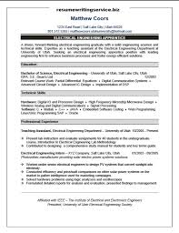 Electrician Apprentice Resume Sample by Electrical Engineering Apprentice Resume Sample Resume Writing