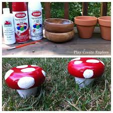 Garden Craft Terra Cotta Marker - best 25 garden mushrooms ideas on pinterest diy yard decor