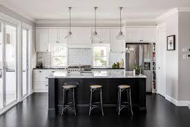 shaker kitchen island cookbook ideas design kitchen transitional with black kitchen