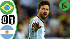 black friday argentina 2017 brazil vs argentina 0 1 highlights u0026 goals 09 june 2017 youtube