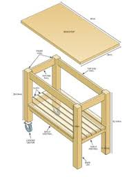 mobile kitchen island plans kitchen island diagram wood work kitchens mobile