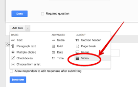 teachers visual guide to adding videos to google forms