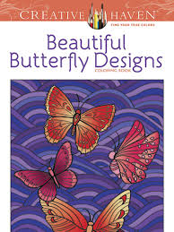 creative beautiful butterfly designs coloring book