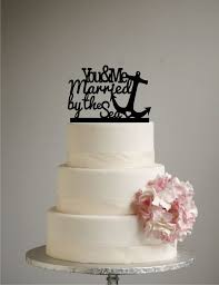 25 cake topper anchor wedding cake topper best 25 wedding cake toppers