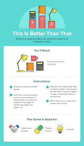 the best 37 team building activities illustrated and with easy